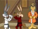Karateciler Bugs Bunny ve Wile karşı karşıya geliyor. İki karateci kahramanda...