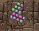 Play butonuna tıklayarak başlattığımız Patlatan Yılan yeşil ve pembe balonlar...