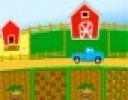 Çiftlik Vakti için harika güneşli bir gün. Çiftlikte bu günü birlikte ekim ça...