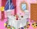 Bugün bu odada romantik bir akşam yemeği yenecek ama ortam pek buna müsait de...