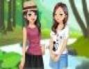 Ormanı çok seven iki arkadaş Sharon ve Maria ağaçlar arasında gezmeyi, bitkil...