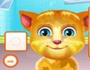 Ginger Göz Doktorunda Oyunu bu oyunumuzda konuşan kedimiz ginger gözleri çok ...