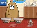 Pou Bulaşık Yıkama Oyunu bu oyunumuzda sevimli pou ile birlikte eğlenceli vak...