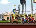 Simpson Motor Yarışı Oyunu bu oyunumuzda hem motor yarışı heyecanı yaşayacak ...