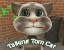 Taklit yeteneği mükemmel olan konuşan kedi Tom siz ne söyleseniz taklit edili...
