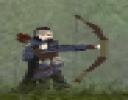 Okçu adam ıssız bir alanda bir başına düşmanlarıyla savaşarak hayatta kalmaya çalışıyor...