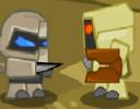 Kötü robotların arasından ayrılan robot artık farklı bir hayat istiyor ama kö...
