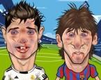 Barcelonanın ve Real Madridin yıldız futbolcuları Messi ve Ronaldo çok havala...