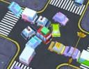 Trafik Kaos Oyunu trafik lambalarının olmadığı bir şehirde arabaları yönetmey...