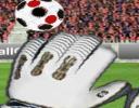 Futbol oyunlarına bu sefer kaleci oyunu eklendi ve şut atmak yerine gelen şut...