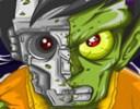 Zombi Dövüşü Oyunu Bu oyunda zombimizi puanlarımız ile kask, silah alabilirsi...